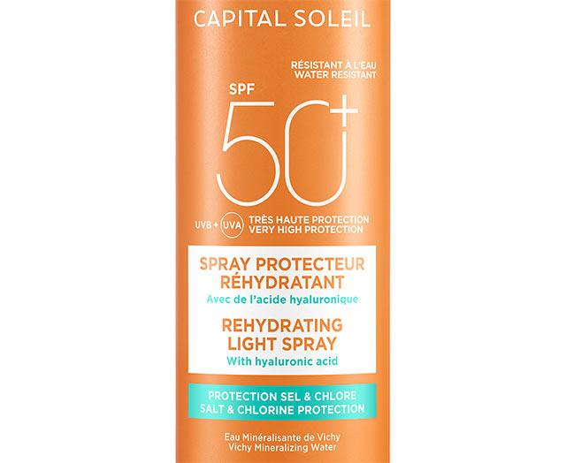 Spray anti-déshydratation - SPF 50+
