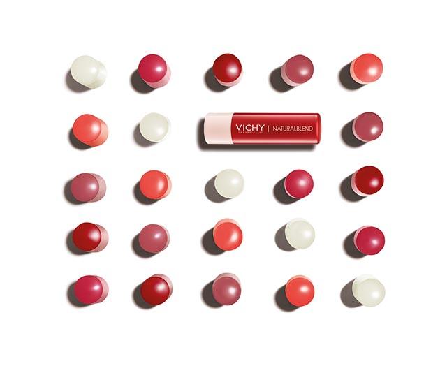 Baumes à lèvres teintés