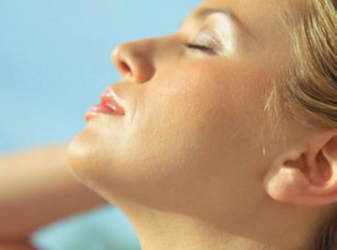 La crème solaire pour le visage