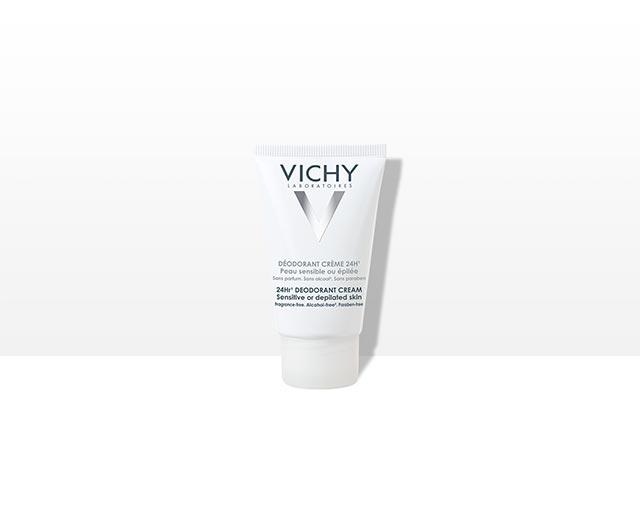 Déodorant crème 24h - Peau sensible ou épilée | Vichy