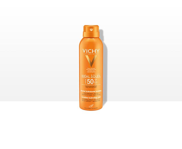 Ideal Soleil - Brume Hydratante Invisible SPF 50 - Vichy