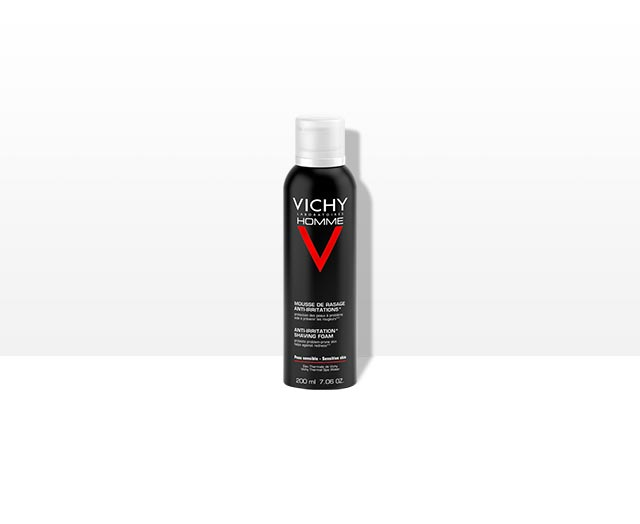 Homme - Mousse à Raser Anti-irritations - Vichy