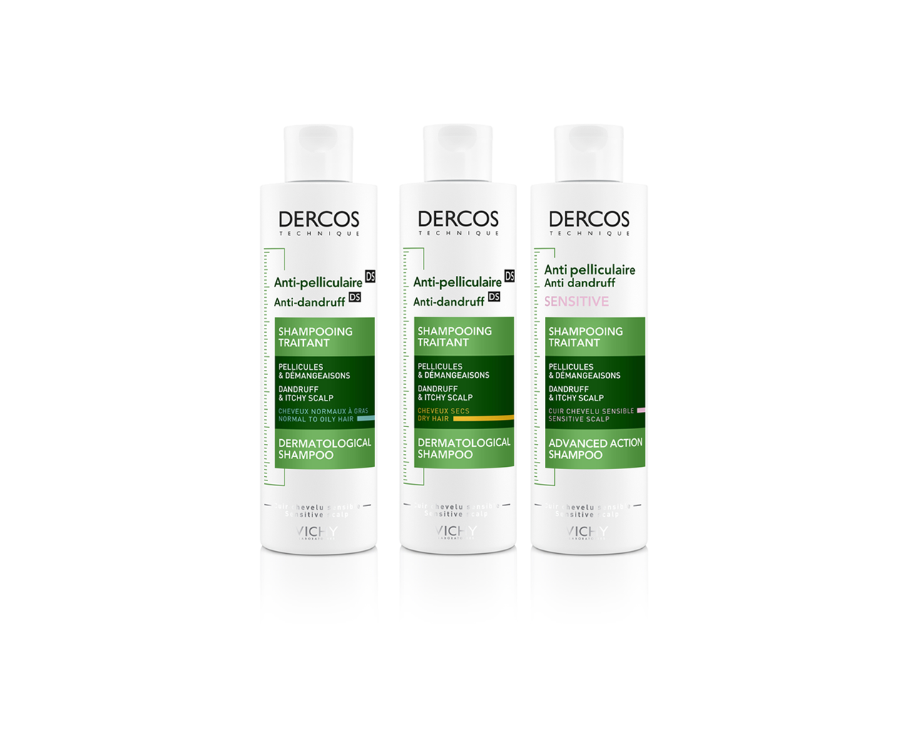 Dercos - Anti-pelliculaire Shampooing Traitant - Vichy