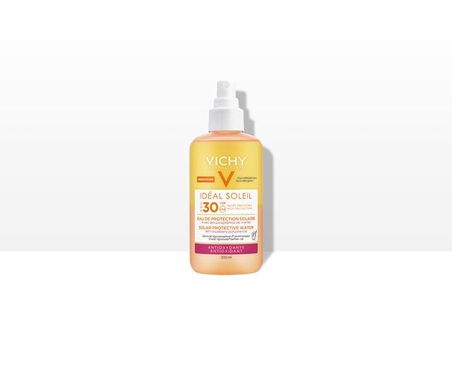 Eau de Protection Solaire SPF 30 – Antioxydante | Vichy Ideal Soleil