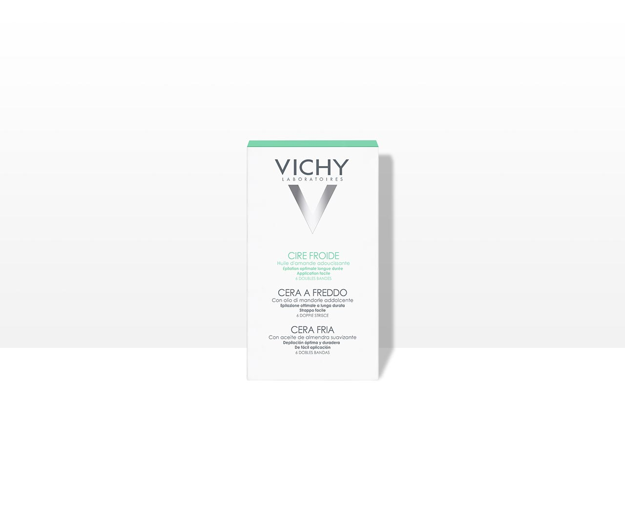 Dépilatoires - Bande de cire froide - Vichy