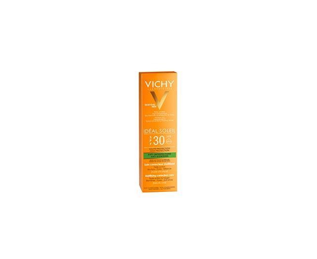 Protection solaire quotidienne triple action anti-imperfection - Vichy Idéal Soleil