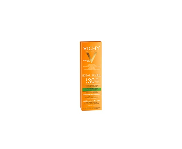 Protection solaire quotidienne triple action anti-imperfection - Vichy Idéal Soleil