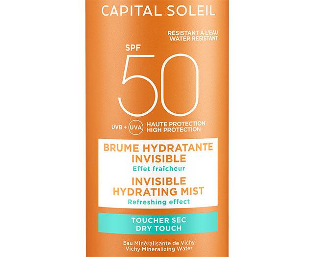 Brume hydratante invisible SPF 50