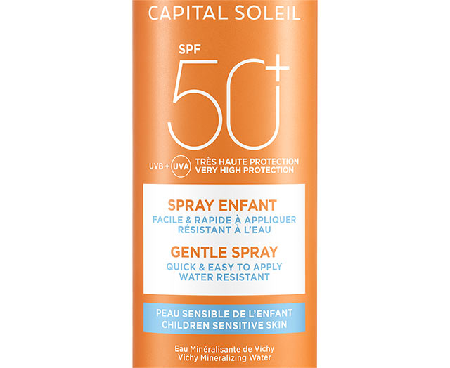 Zonnebrand spray kind SPF 50+
