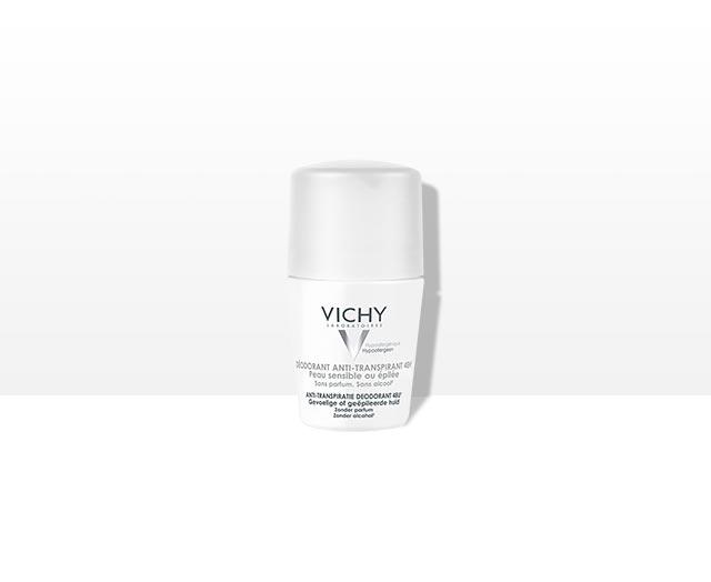 Antitranspirant Deodorant Roller - voor gevoelige of geëpileerde huid | Vichy