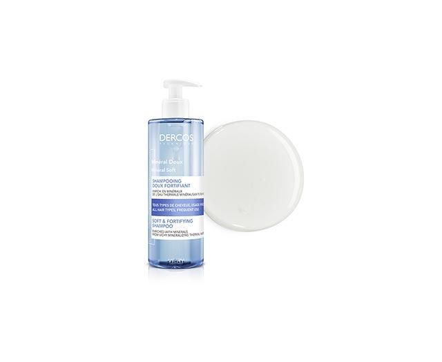 Verzachtende Mineraal shampoo