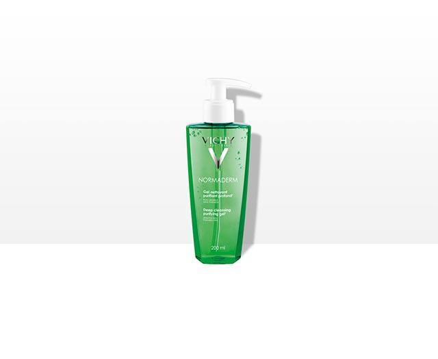 Reinigingsgel die de huid grondig zuivert - Vichy Normaderm