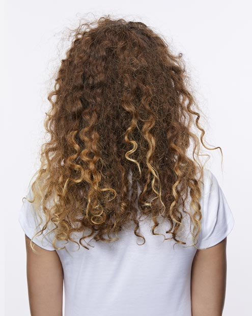 before curly