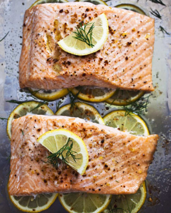Salmon-healthy-fats-for-plump-skin