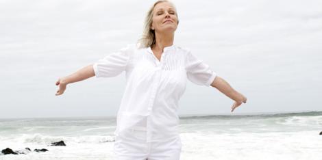 Sport om met de menopauze om te gaan