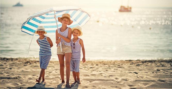 Houd uw baby zo veel mogelijk uit de zon: tips van Vichy