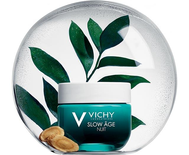 Slow Âge Nacht - Crème en fris masker | Vichy