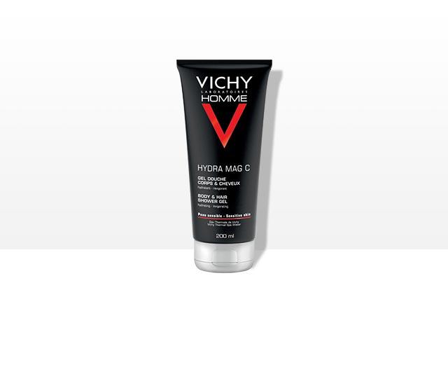 Douchegel - reinigt en verkwikt - Vichy Homme